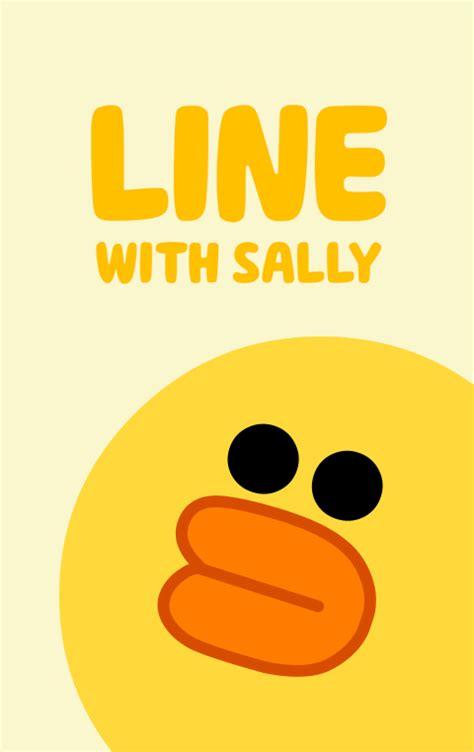 theme line v 5 莎莉 line 主題