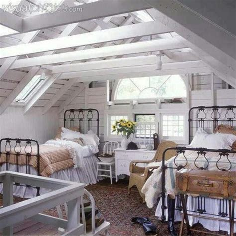 cottage attic bedroom ideas 17 best images about farmhouse chic bedrooms twin bed