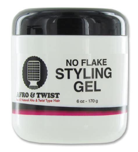 Styling Gel That Doesn T Flake | afro twist no flake styling gel jar 6 oz