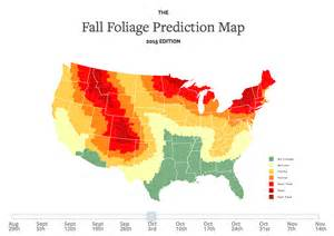 us fall color map an interactive map that predicts the expected fall foliage