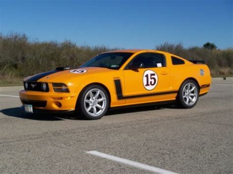 parnelli jones mustang for sale purchase used saleen parnelli jones special edition