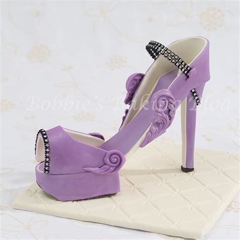 best photos of platform shoe template fondant high heel