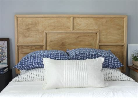 the of a headboard