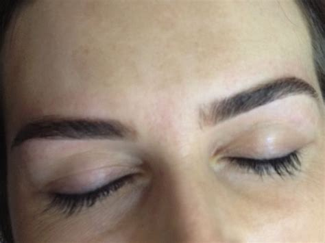 eyebrow tattoo chicago shaped eyebrows with a touch of permanent color