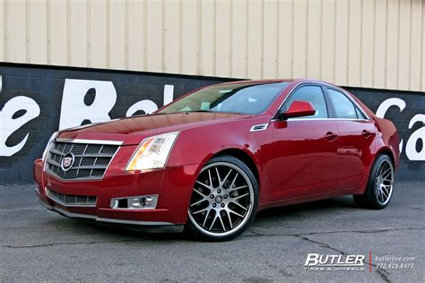 tires for cadillac cts cadillac cts custom wheels mrr rw06 20x et tire size