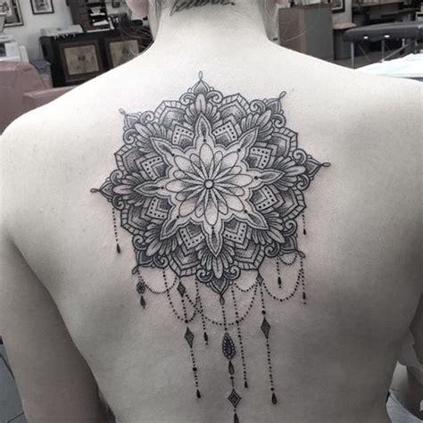 simple back tattoos 20 designable awesome mandala back made