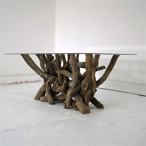 rectangular driftwood dining table by miller doris