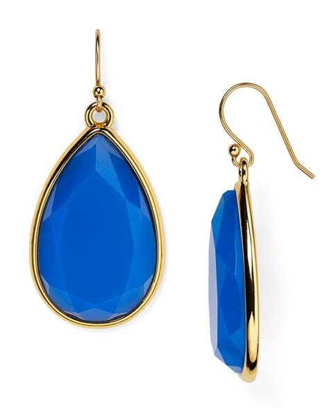 Kate Spade Earing 0oru1624 lyst kate spade new york day tripper earrings in blue