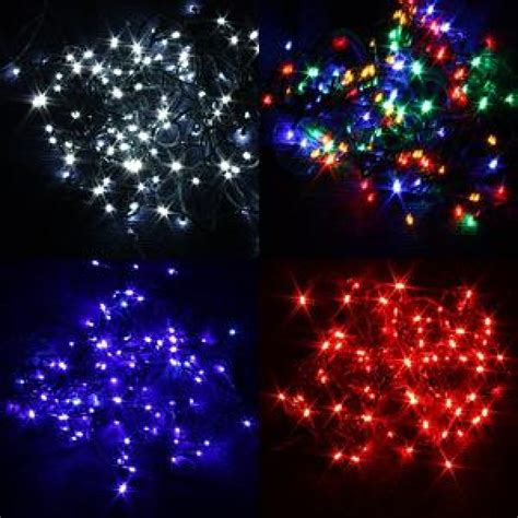 100 led christmas tree lights indoor or outdoor