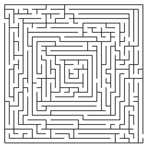 printable mazes challenging free difficult mazes coloring pages