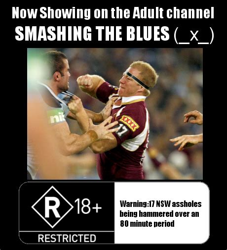 Nsw Blues Memes - the maroon mob the state of origin is being moved to the