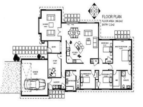 Bedroom House Plans by 5 Bedroom House Plans Simple 5 Bedroom House Plans 7