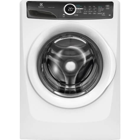 front load washer fan electrolux 4 3 cu ft front load washer with luxcare wash