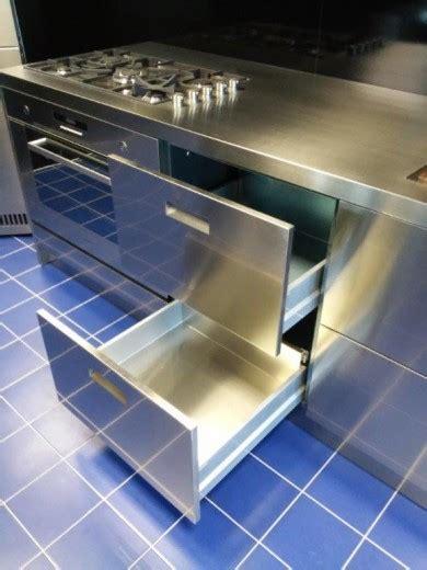 blocco cucina inox c65 blocco cucina inox lineare cucine steellart