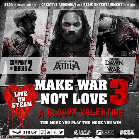 Make War by Make War Not Sega Strategy Event Returns With