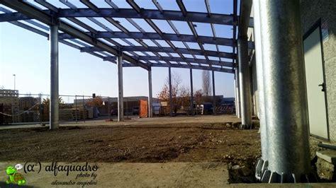 tettoie in acciaio tettoia in acciaio costruzioni e coperture ad arco modena
