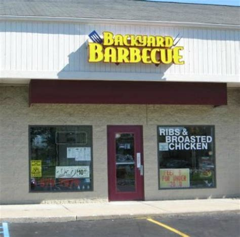 Backyard Bbq Grand Blanc Mi Back Yard Barbecue Grand Blanc Restaurant Reviews