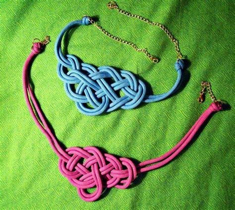 nudos de collares collar de nudos marineros paso a paso eye pinterest