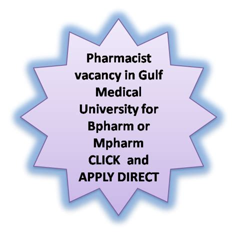 Pharmacist Vacancy by Pharmjobs Org Pharmacist Vacancy In Gulf
