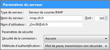 imap port 143 pop smtp imap