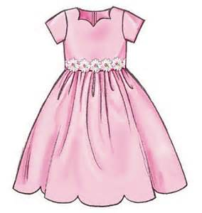 Easy sewing pattern girls toddlers bridesmaid summer dresses all sizes
