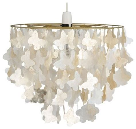 Capiz Butterfly Pendant Shade Contemporary Pendant Butterfly Ceiling Light