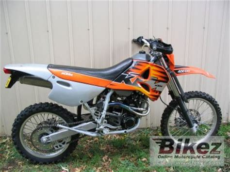 Ktm 400 Sxc 1999 Ktm 400 Sxc Specifications And Pictures