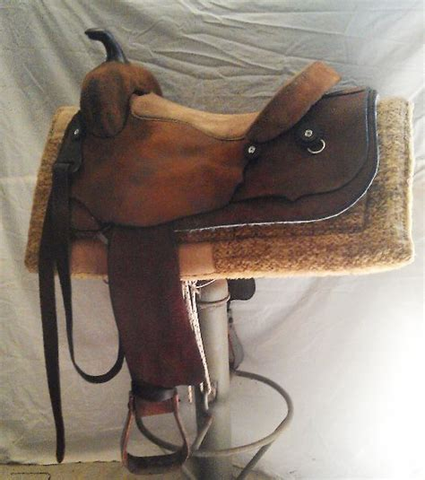 Handmade Saddles For Sale - size handmade roughout leather western saddle