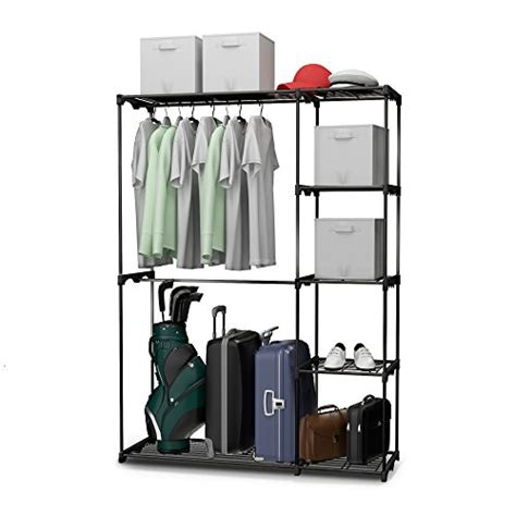 Free Standing Closet Systems Free Standing Closet System Organizer Heavy Duty Metal