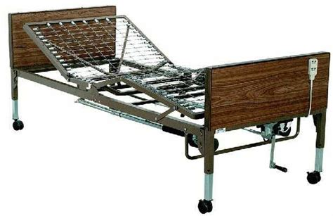 semi electric high  adjustable bed  homecare