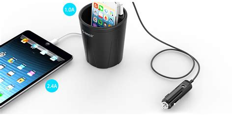 Charger Fast Zola 3 Output Ori High Quality uch c2 3 port car charger usb charger orico thailand