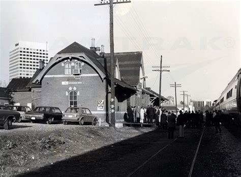 at the rockville md station 1970s amtrak