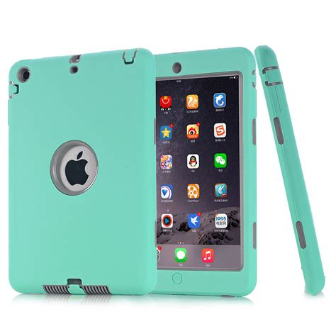 Leather Kulit Army Mini 1 2 3 Combo Soft Limited shockproof heavy duty rubber cover for apple