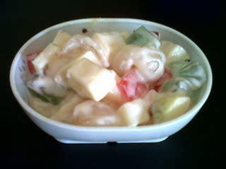 cara membuat salad buah tanpa yogurt masak bareng mommy salad buah yogurt strawberry