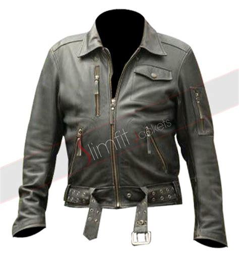 Jaket Hog hogs travolta woody biker leather jacket