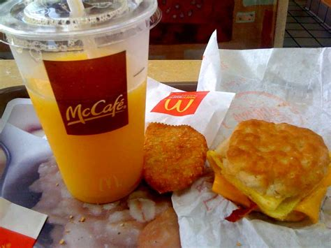 Mcdonalds Meals That Thankfully Didnt Make It by Mcdonalds Breakfast Bacon Egg Cheese Biscuit With An