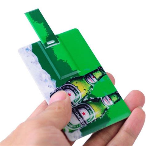 printable credit card usb credit card style usb 2 0 flash drive with full print