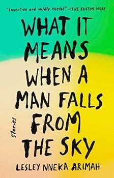 Book Review Saffron Skies By Lesley Lokko by What It Means When A Falls From The Sky By By Lesley