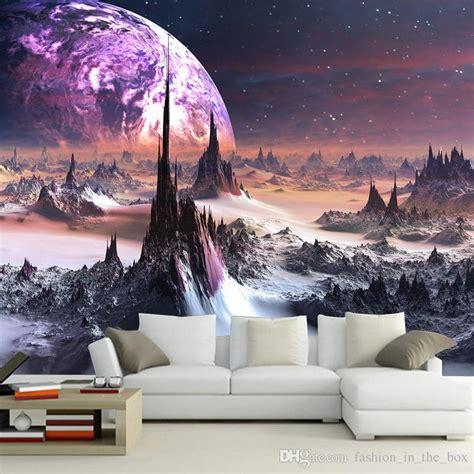 galaxy wallpaper buy purple galaxy wallpaper 3d photo wallpaper charming stars
