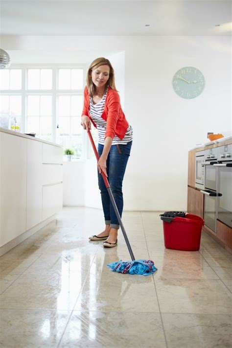 how to clean kitchen floor tips for cleaning floors thriftyfun