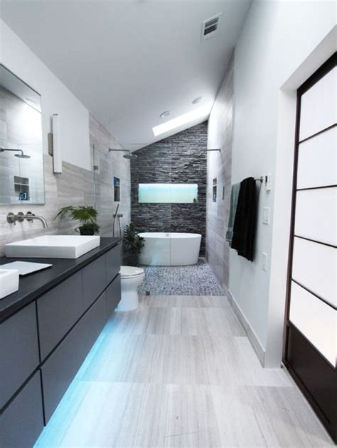 Houzz Modern Bathrooms by Contemporary Bathroom Design Ideas Remodels Photos