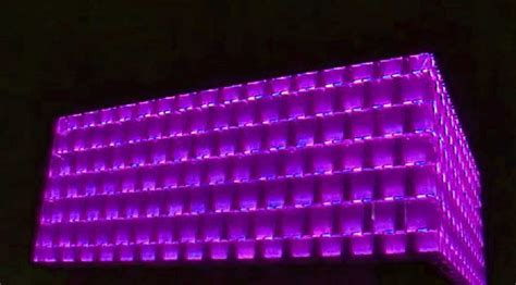 Liverpool University Building Lighting Active Learning Liverpool Lights
