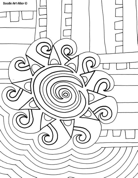 Doodle Art Coloring Pages Coloring Home Free Doodle Coloring Pages