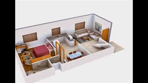 3d Interior Rendering Of House Floor Plans Youtube House Plans With 3d Interior Images
