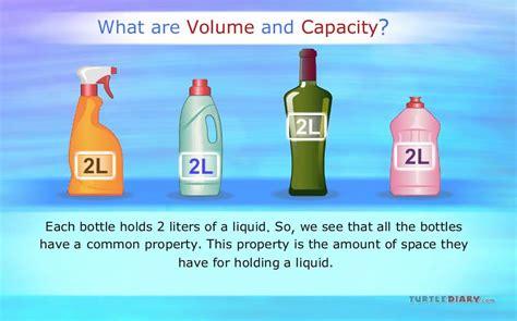 Capacity volume and capacity introduction turtlediary youtube
