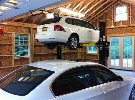 car garage build  garage journal board