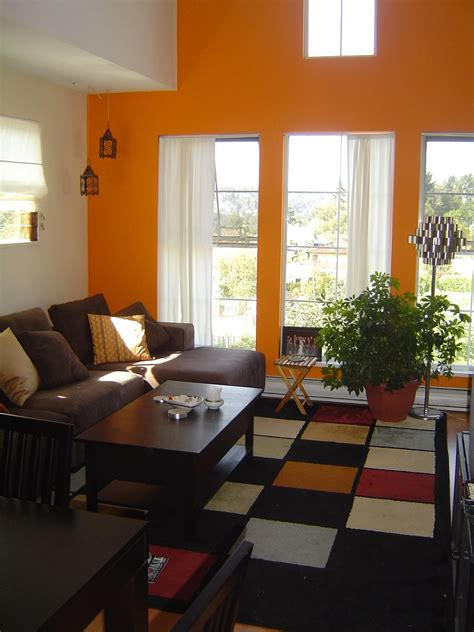 orange living rooms 28 stunning orange living room designs ideas decoration love