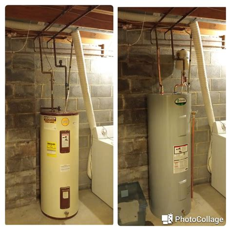 Dc Heating And Plumbing by 50g Water Heater On Left New 50g With Expansion Tank