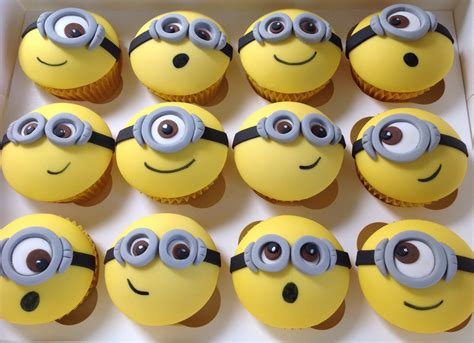 imagenes minions cupcakes minion cupcakes www pixshark com images galleries with