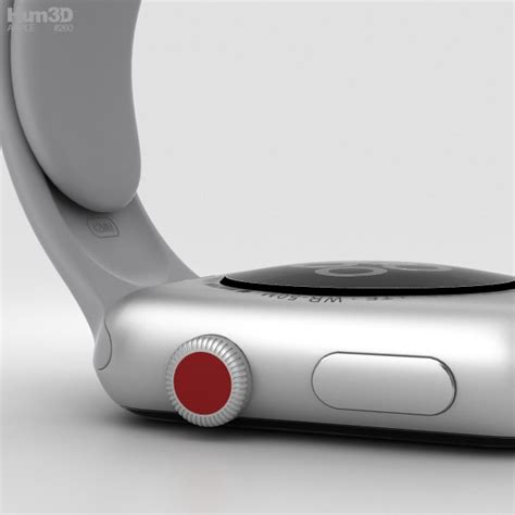 Apple Series 3 Gps 38mm Silver Fog Sport Band Limited apple series 3 42mm gps cellular silver aluminum fog sport band 3d model hum3d